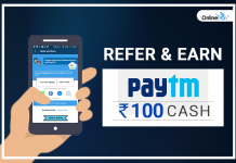 Refer and Earn Paytm Cash- OnlineTyari