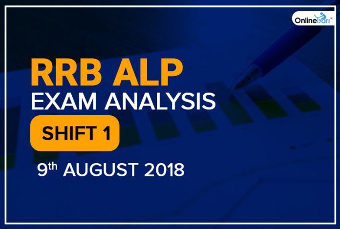 RRB ALP Exam Analysis (Shift 1): 9th August 2018