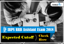 IBPS RRB Office Assistant Expected Cutoff 2018