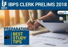 IBPS Clerk Prelims 2018 Preparation: Best Study Tips