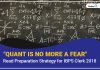 """Quant is no more a fear"" Read Preparation Strategy for IBPS Clerk 2018"